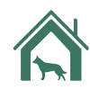 Uber Menu Charity Dog Shelter Icon